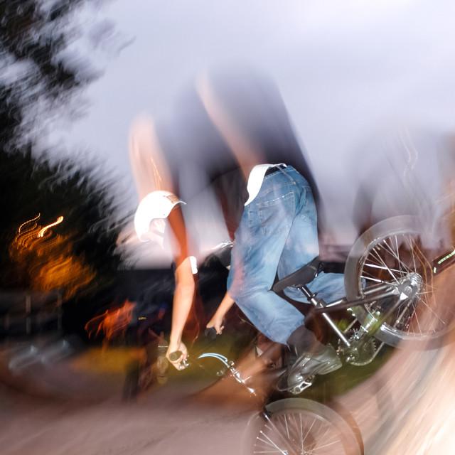 """bmx rider"" stock image"