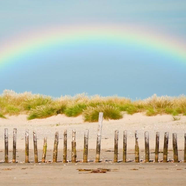 """coastal rainbow"" stock image"