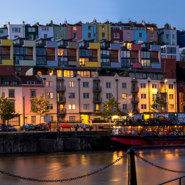 """Bristol Harbourside"" stock image"