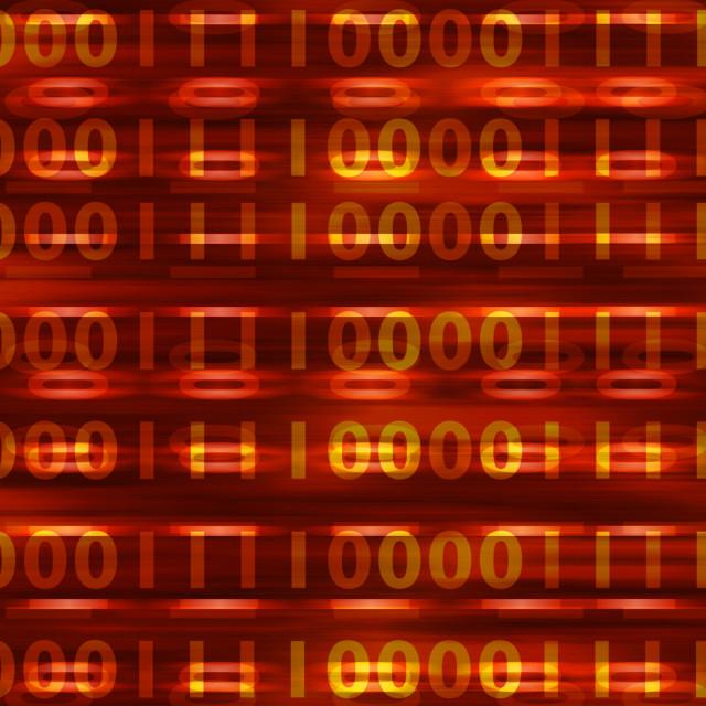 """Binary background"" stock image"
