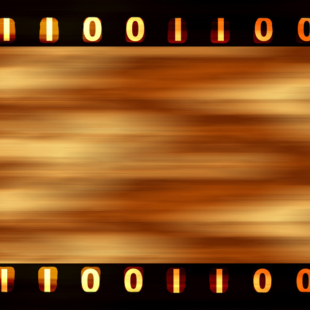 """Digital film strip"" stock image"