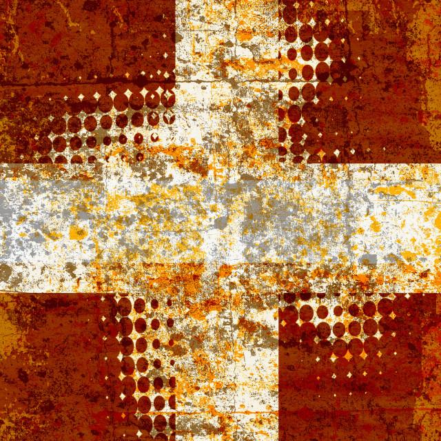 """Grunge cross"" stock image"