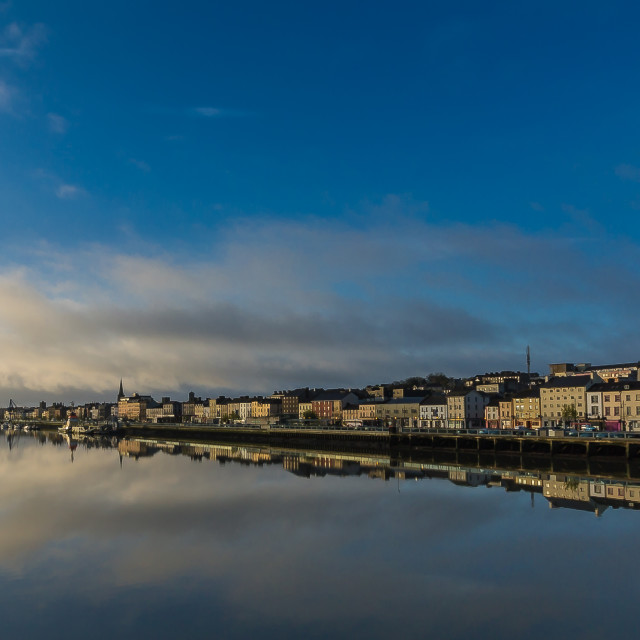 """Waterford Reflections"" stock image"