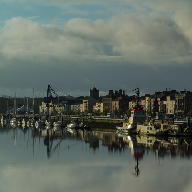 """Waterford Reflections Closer"" stock image"