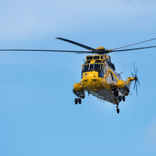 """A sea-king helicopter"" stock image"