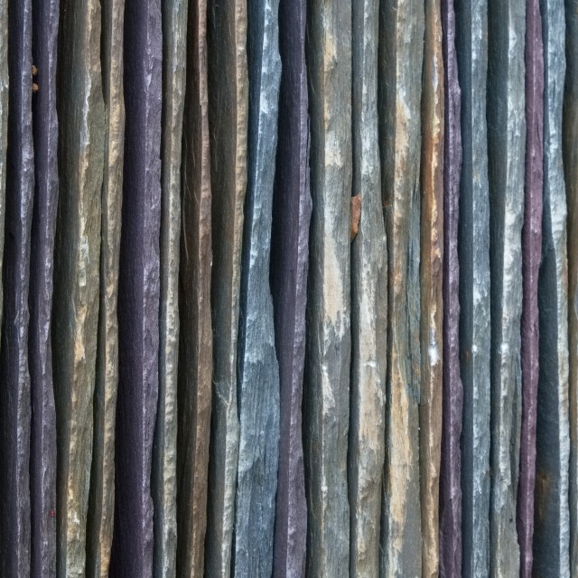 """A Stack of Slate Tiles"" stock image"
