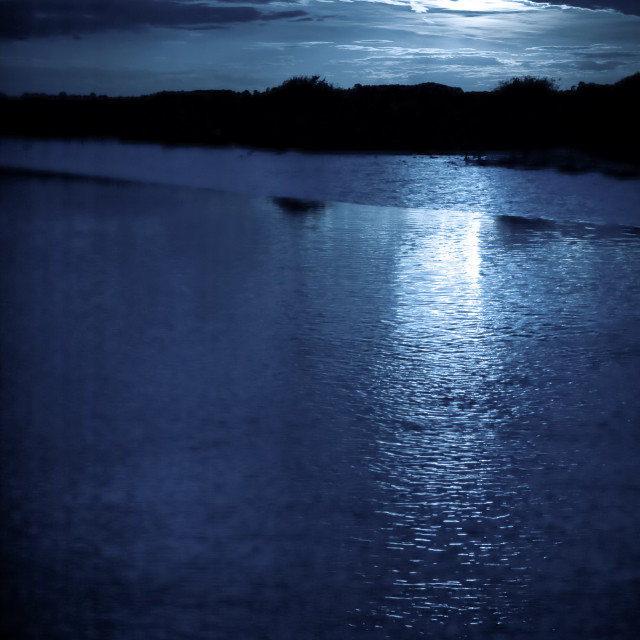 """moonlight cloudscape"" stock image"