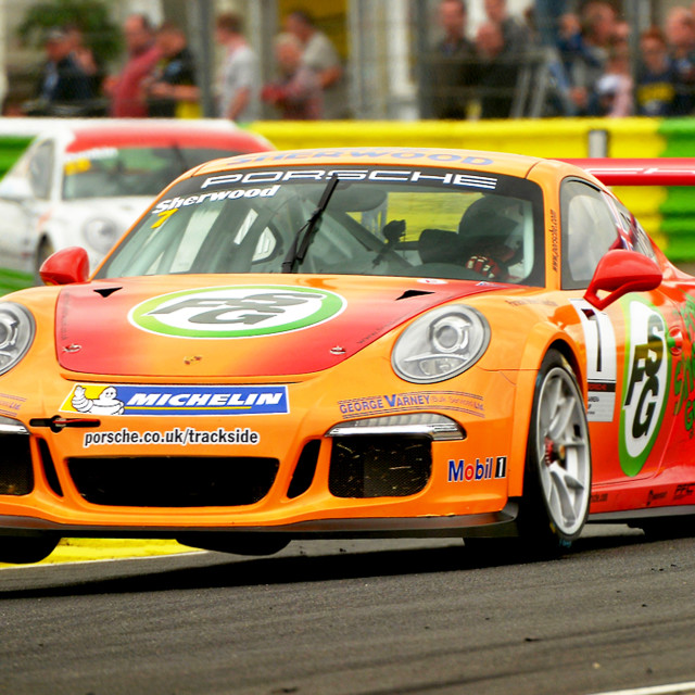 """Carrera Cup GB part of the BTCC"" stock image"