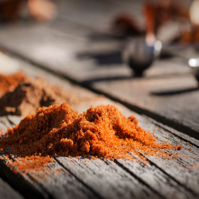 """""""A hint of spice"""" stock image"""