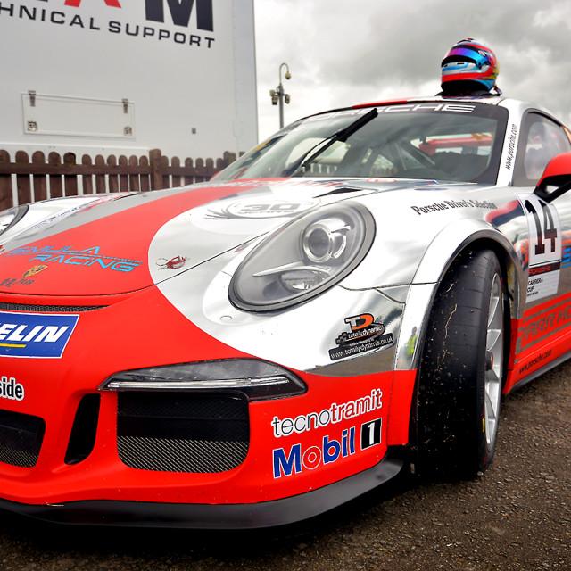 """Porsche Carrera GT"" stock image"