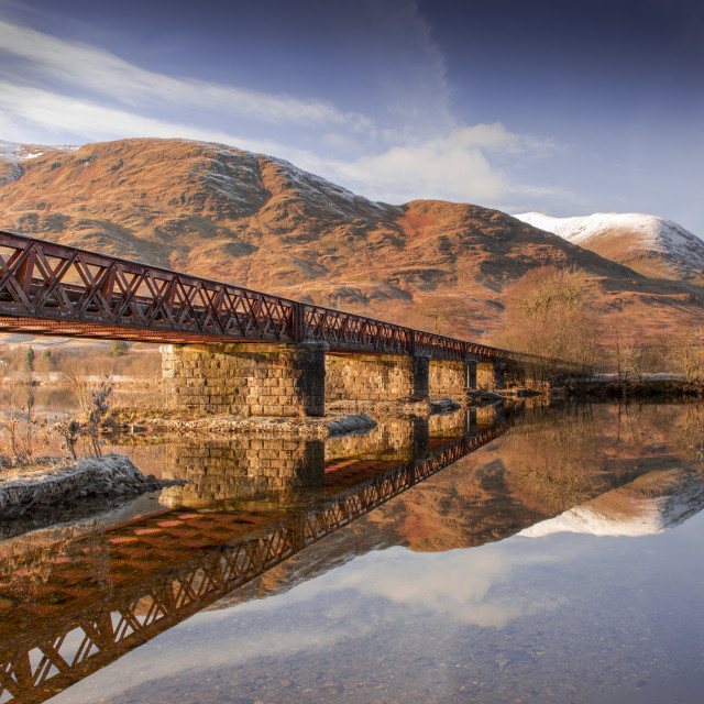 """River Awe Scotland"" stock image"