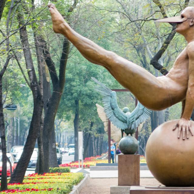 """Sculptures"" stock image"