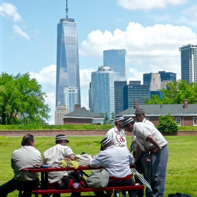"""Gotham Base Ball Club of New York"" stock image"