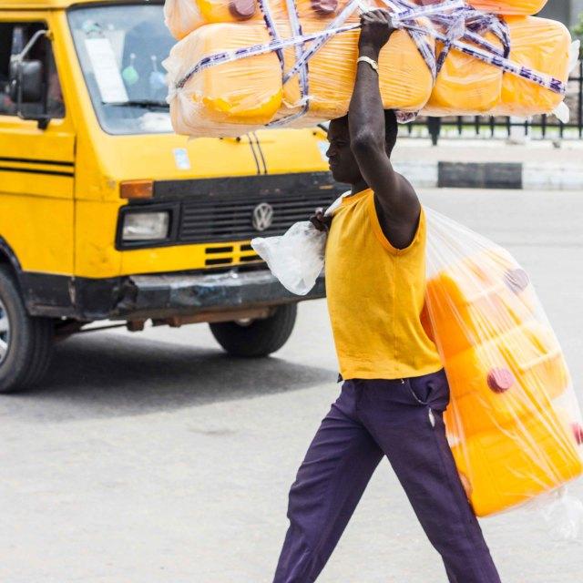 """Yellow Lagos"" stock image"
