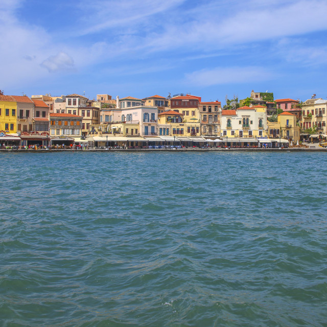 """Chania on Crete in Greece"" stock image"