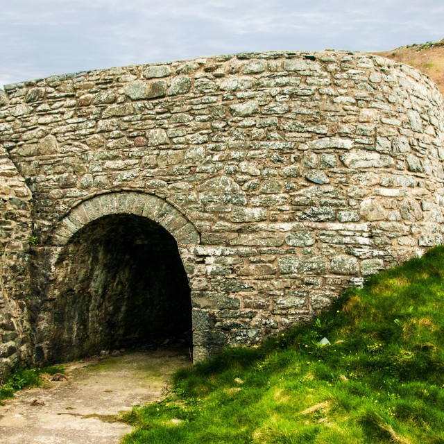 """Lime kiln"" stock image"