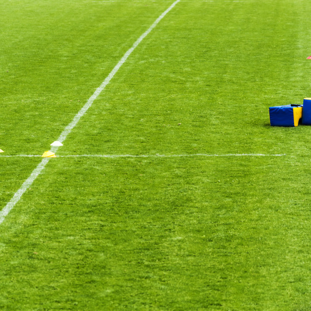 """Rugby Training Session Over"" stock image"