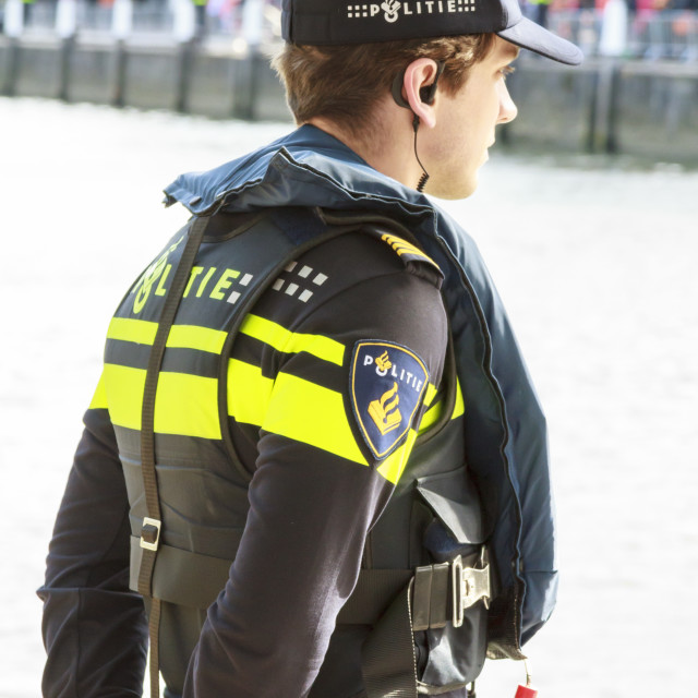 """""""Dutch police officer"""" stock image"""