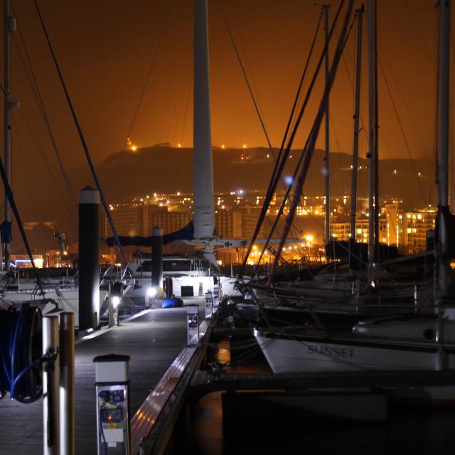 """Harbour Haze"" stock image"