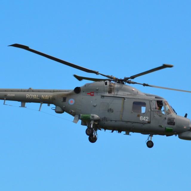 """""""Westland Lynx"""" stock image"""