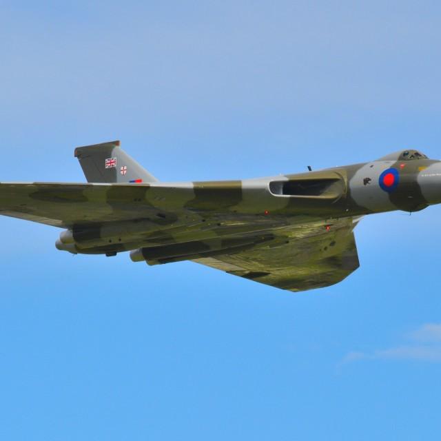 """XH558 Avro Vulcan"" stock image"