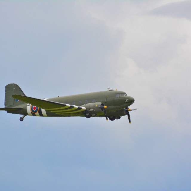 """DC-3 dakota"" stock image"