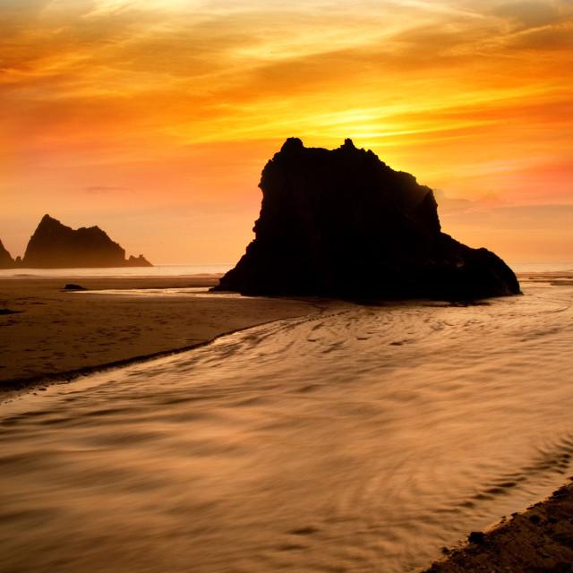 """Beach scene"" stock image"