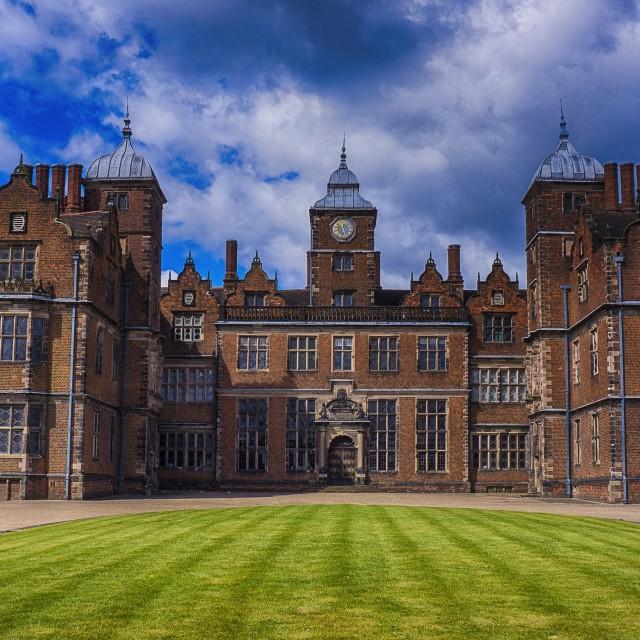 """Aston Hall"" stock image"