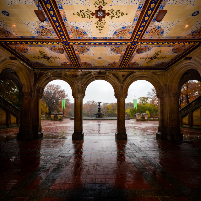 """The Arches Central Park"" stock image"