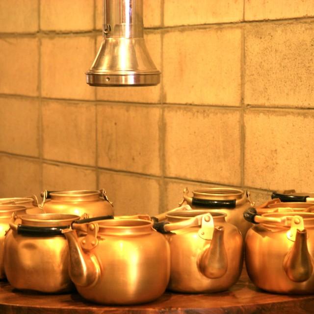 """Tea Kettles"" stock image"