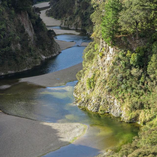 """Pahaoa river"" stock image"
