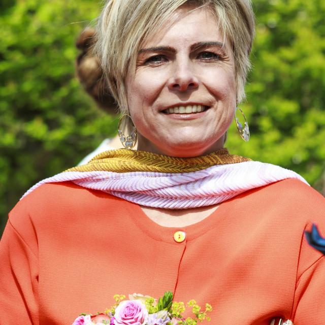 """""""Princess Laurentien Brinkhorst"""" stock image"""