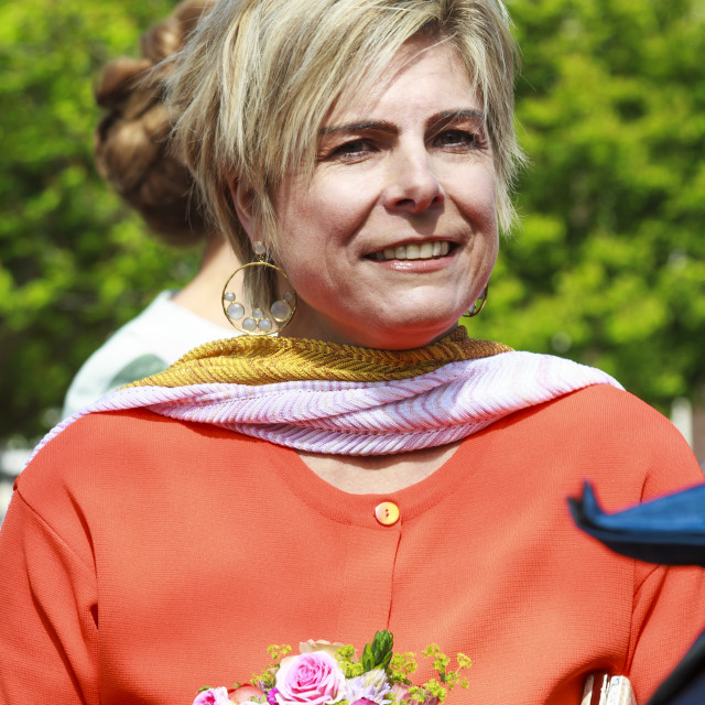 """""""Princess Laurentien"""" stock image"""