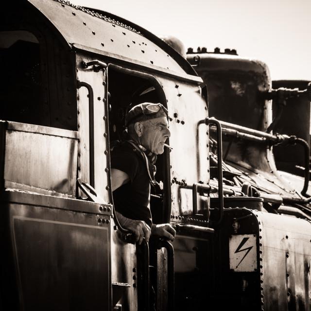 """Locomotive"" stock image"
