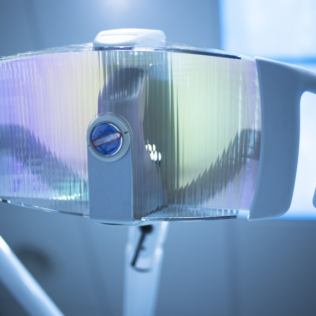 """Dental instrumentation dentist light dentists surgery clinic"" stock image"