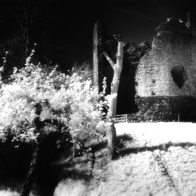 """Longtown Castle"" stock image"