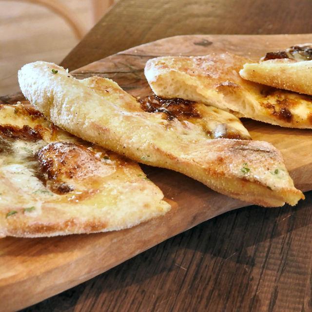 """Garlic Bread"" stock image"