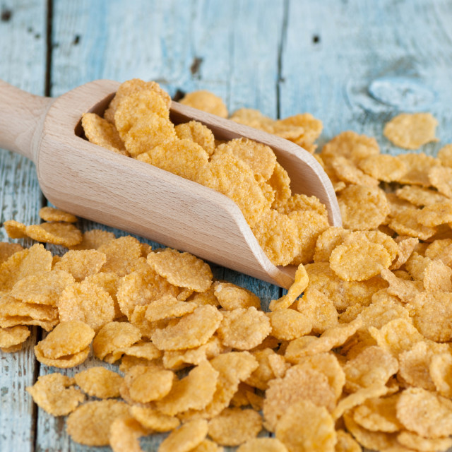 """Corn flakes"" stock image"