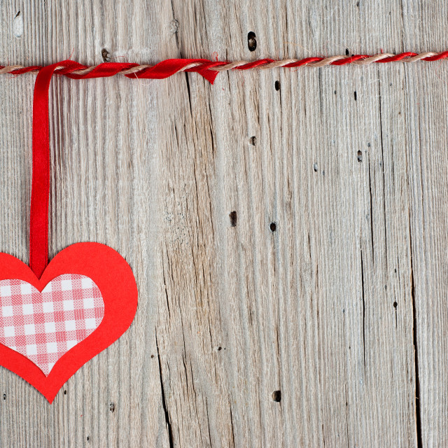 """""""Paper heart"""" stock image"""