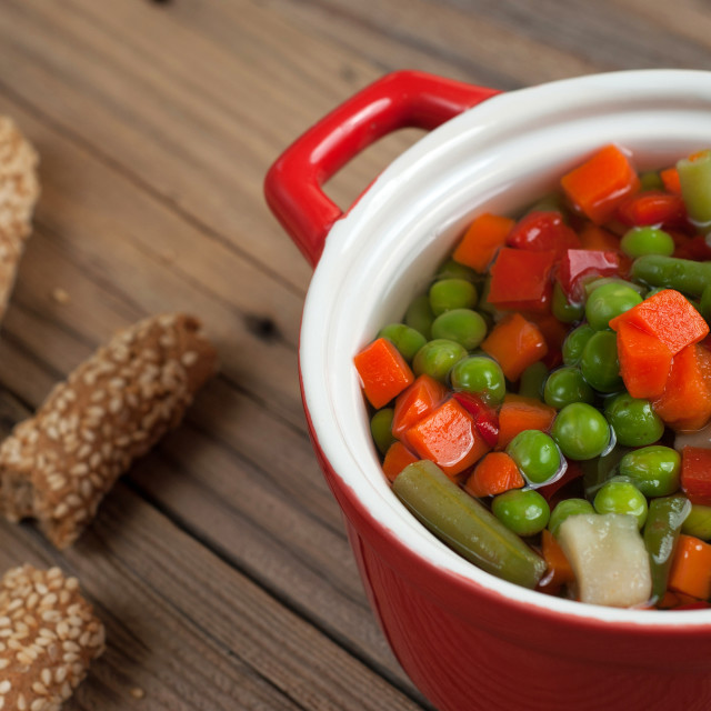 """Vegetable soup"" stock image"
