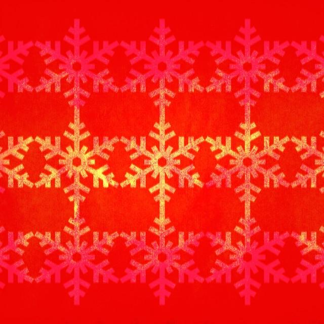"""""""Christmas grunge snowflake pattern"""" stock image"""