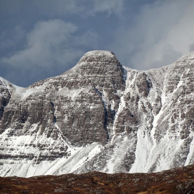 """Quinag, Assynt, Scotland"" stock image"