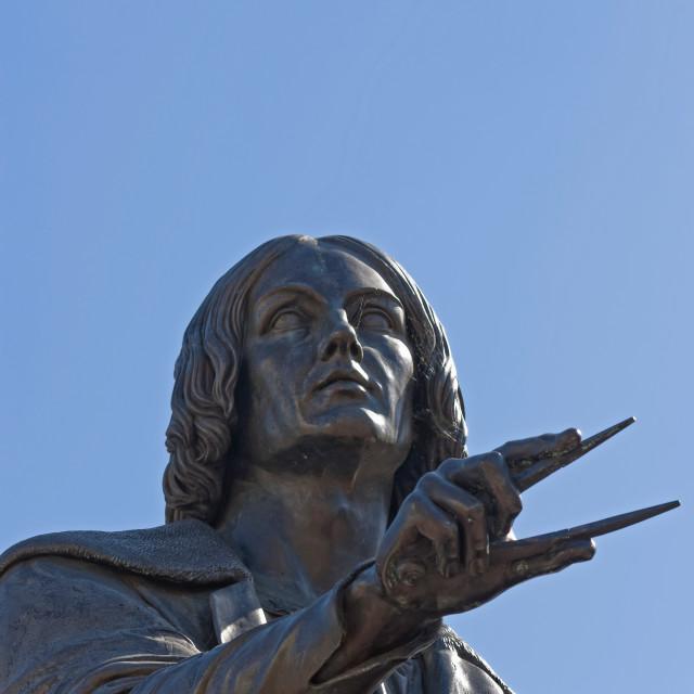 """Nicolaus Copernicus"" stock image"
