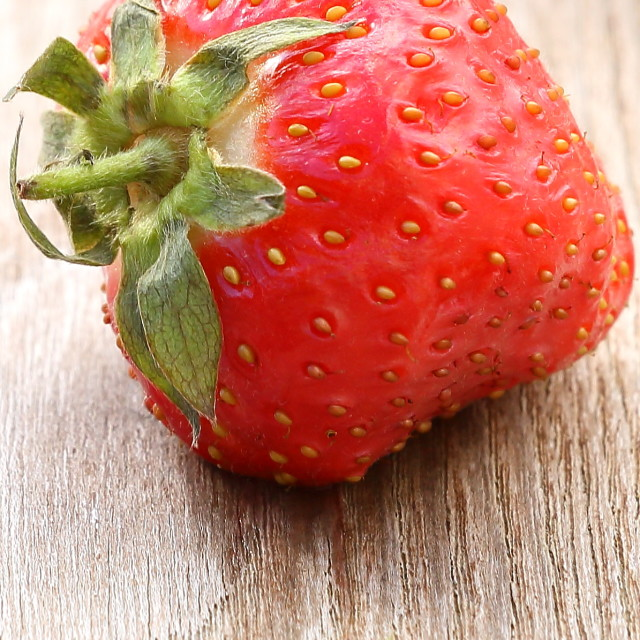 """Strawberry close up"" stock image"