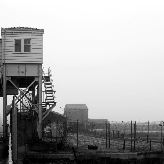 """Dock Road, Liverpool"" stock image"