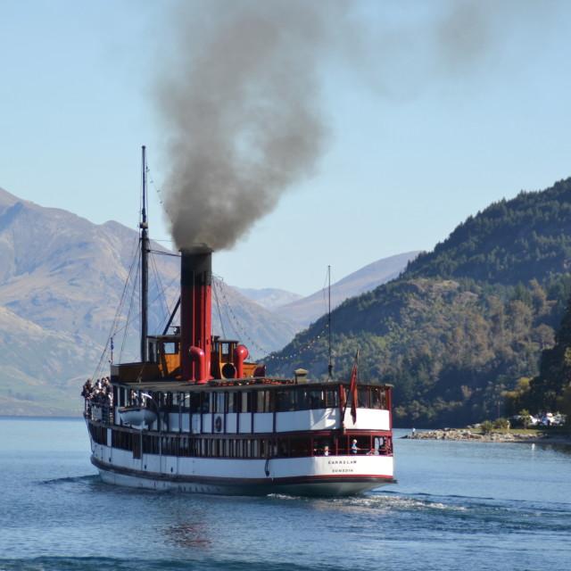 """""""Vintage steamer"""" stock image"""
