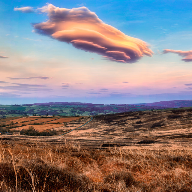 """North York Moors"" stock image"