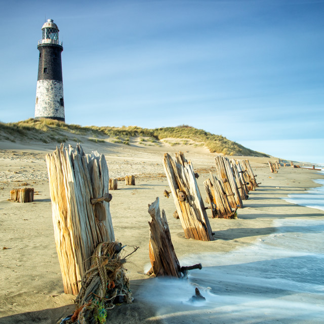 """Spurn Point"" stock image"