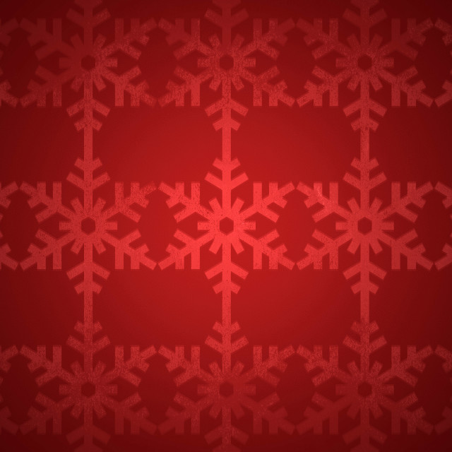 """Red christmas snowflake pattern"" stock image"