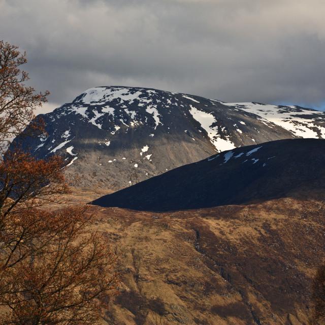 """Ben Nevis Scotland"" stock image"